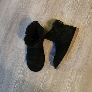 Ugg koolaburra black boots size 8